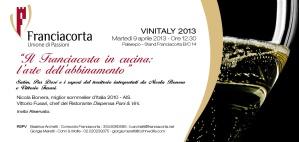 Invito Franciacorta Martedì 09 04 ore 12 30@Vinitaly