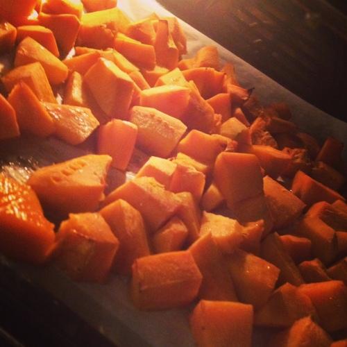 zucca in forno